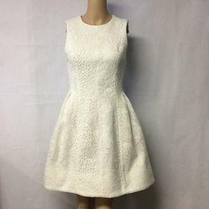 Calvin Klein white lace dress / 2